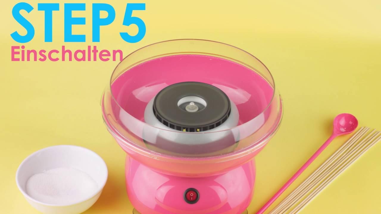 Zuckerwatte für Kinder Zuckerwatte selbermachen Zuckerwatte Maschine Zucker