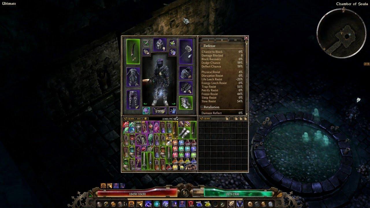 Grim dawn blademaster build