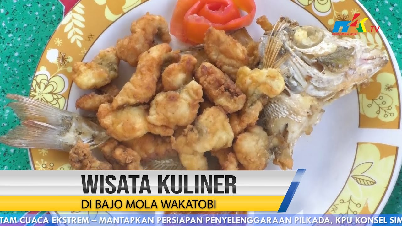 Wisata Kuliner di Bajo Mola Wakatobi