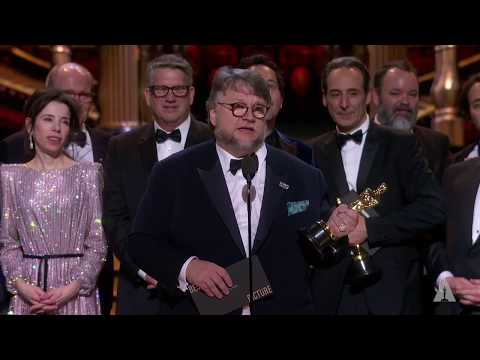 """The Shape of Water"" wins Best Picture"