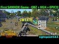 My FIRST SANHOK Game - QBZ + M24 = YES PLEASE!! | PUBG Mobile Lightspeed 0.8.6