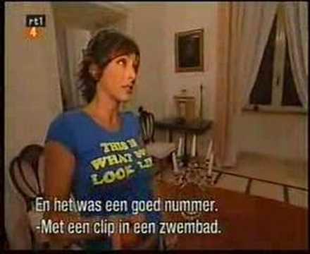 SABRINA SALERNO IN A NETHERLANDS TV