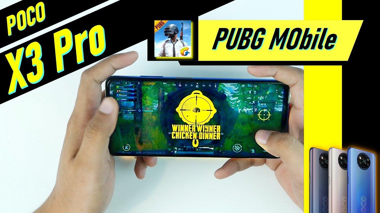 เทส POCO X3 Pro กับเกม PUBG Mobile | ยกให้รุ่นนี้เป็นที่หนึ่งในเรื่องเกมราคา 6,999.-