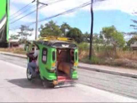 Tricycle to NCCC Mall, Tagum City, Philippines