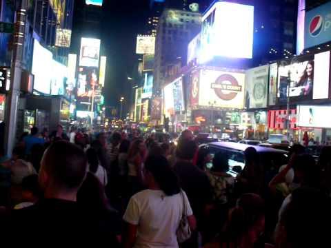 NYC: Orgie de monde!