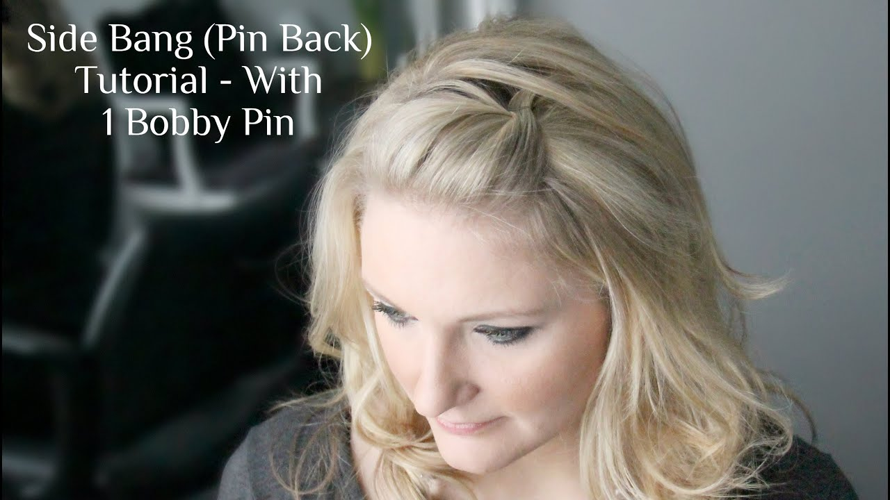 ways to style hair with bobby pins side pin back poof 1057