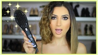 How To Straighten Y๐ur Hair With A Brush