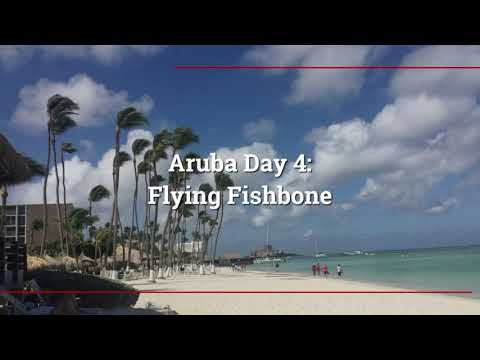 Aruba Honeymoon Day 4: Flying Fishbone!