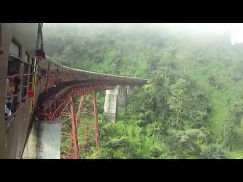 Harrangajao bridge & Tunnel at Lumding Badarpur Hill section