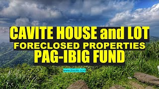 Cavite House And Lot Pag Ibig Fund Foreclosed Properties