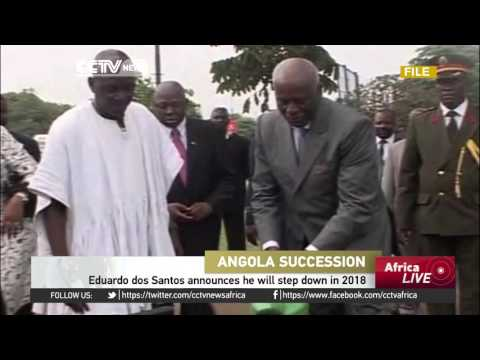 Angola's Eduardo dos Santos announces he will step down in 2018
