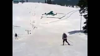 Gulmarg, Downhill and Snow Plow at 85° Slope