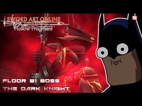 I am the night sao re hollow fragment ep 5 floor 81 for Floor 100 boss sao
