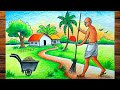 Mahatma gandhi swachh bharat abhiyan drawing