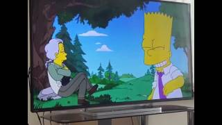 The simpsons bart swears taking the piss
