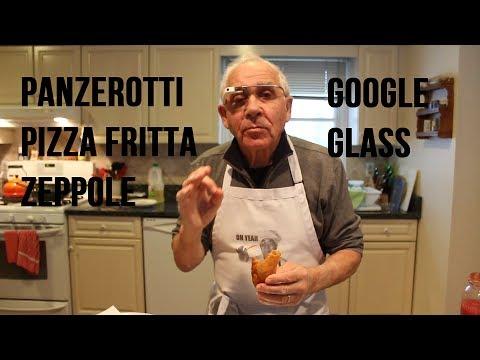 Panzerotti, Pizza Fritta and Zeppole Recipe (Google Glass #ThroughGlass) - OrsaraRecipes