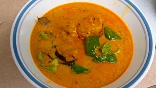 Bombay / Mumbai Style Shrimp/prawn/crab Curry, Indian Cooking