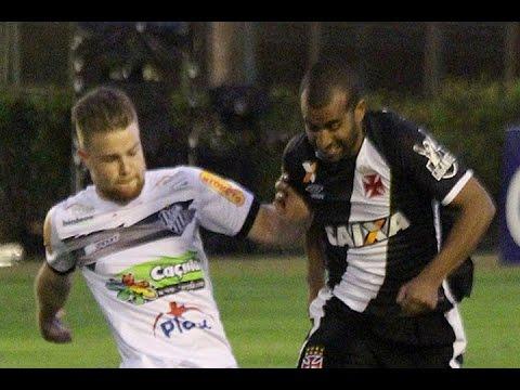 Gols, Tupi-MG 2 x 2 Vasco - Brasileirão Série B 27/08/2016