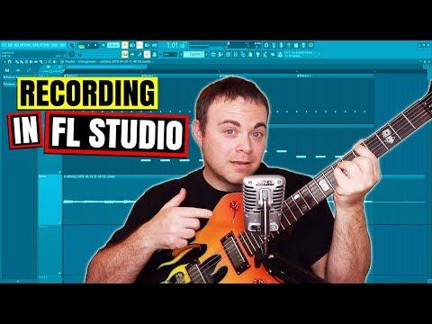 FL Studio Recording and Audio Interface Setup