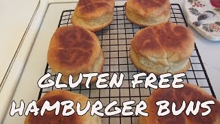 Gluten Free Hamburger Buns ~ Bob's Red Mill Flour