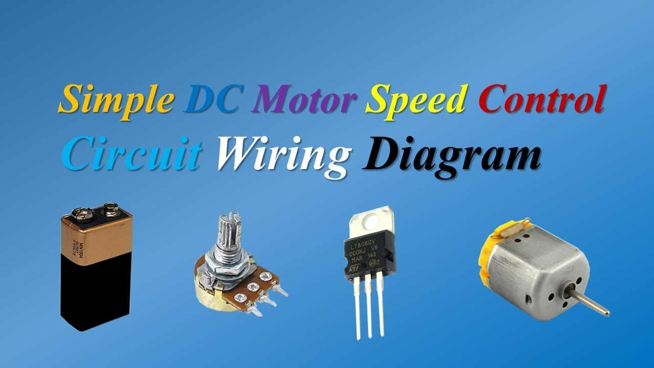 medium resolution of simple dc motor speed control circuit wiring diagram by tech bondhon