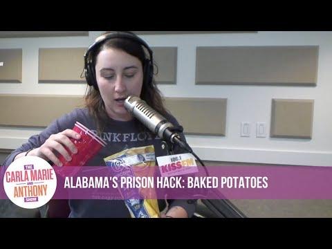 Alabama - Prison Hacks with Alabama: Prison Baked Potatoes