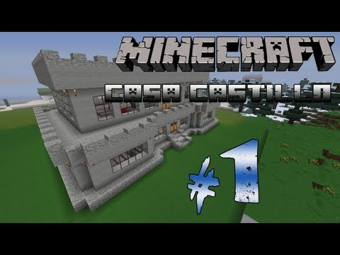 Como hacer una casa moderna en minecraft funnydog tv for Casa moderna tutorial facil de hacer