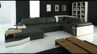 Modern Sectional Leather Sofa