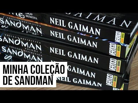 MINHA COLEÇÃO DE HQS DE SANDMAN   Pipoca Musical