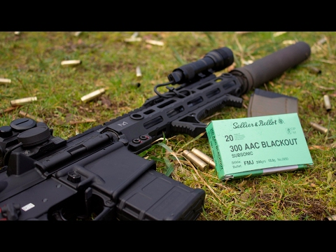 S&B Subsonic 300 Blackout Review - YouTube