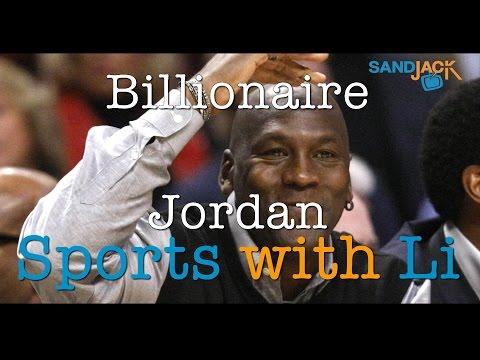 Michael Jordan, first Billionaire Athlete