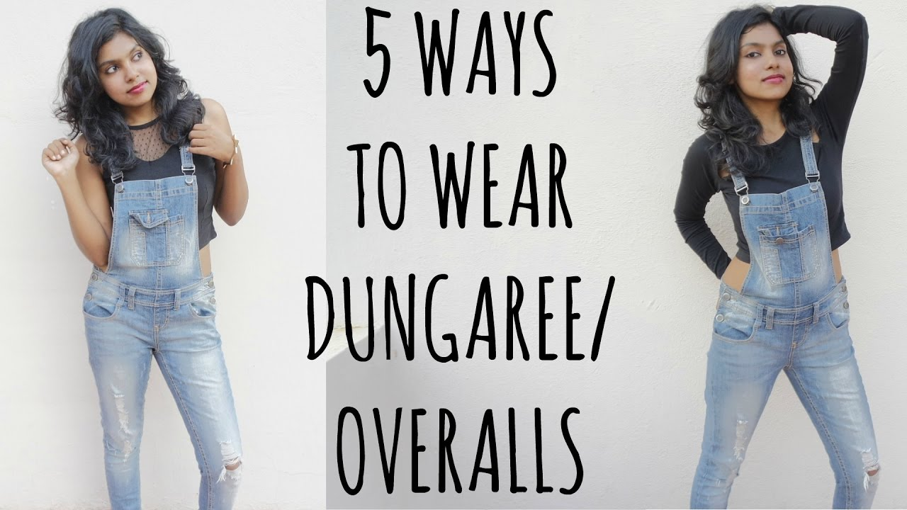 65a1bc1b0ee5 Dungarees Outfit Ideas - How to Wear   Style Dungarees