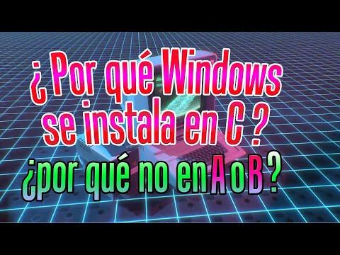 ¿Por Qué Windows Se Instala En La Unidad C En Vez De En A O B? |Origen De Las Letras De Las Unidades