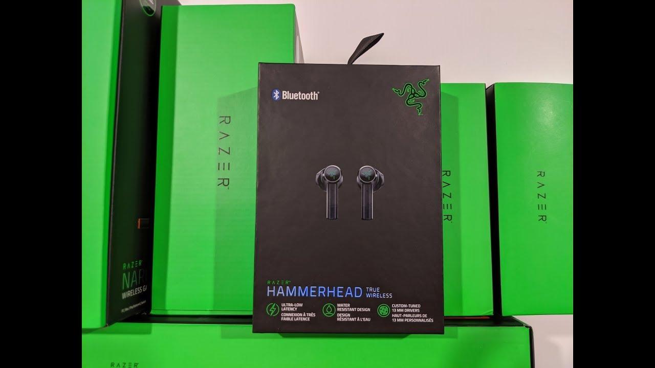 Razer Hammerhead True Wireless Quick Unboxing Youtube
