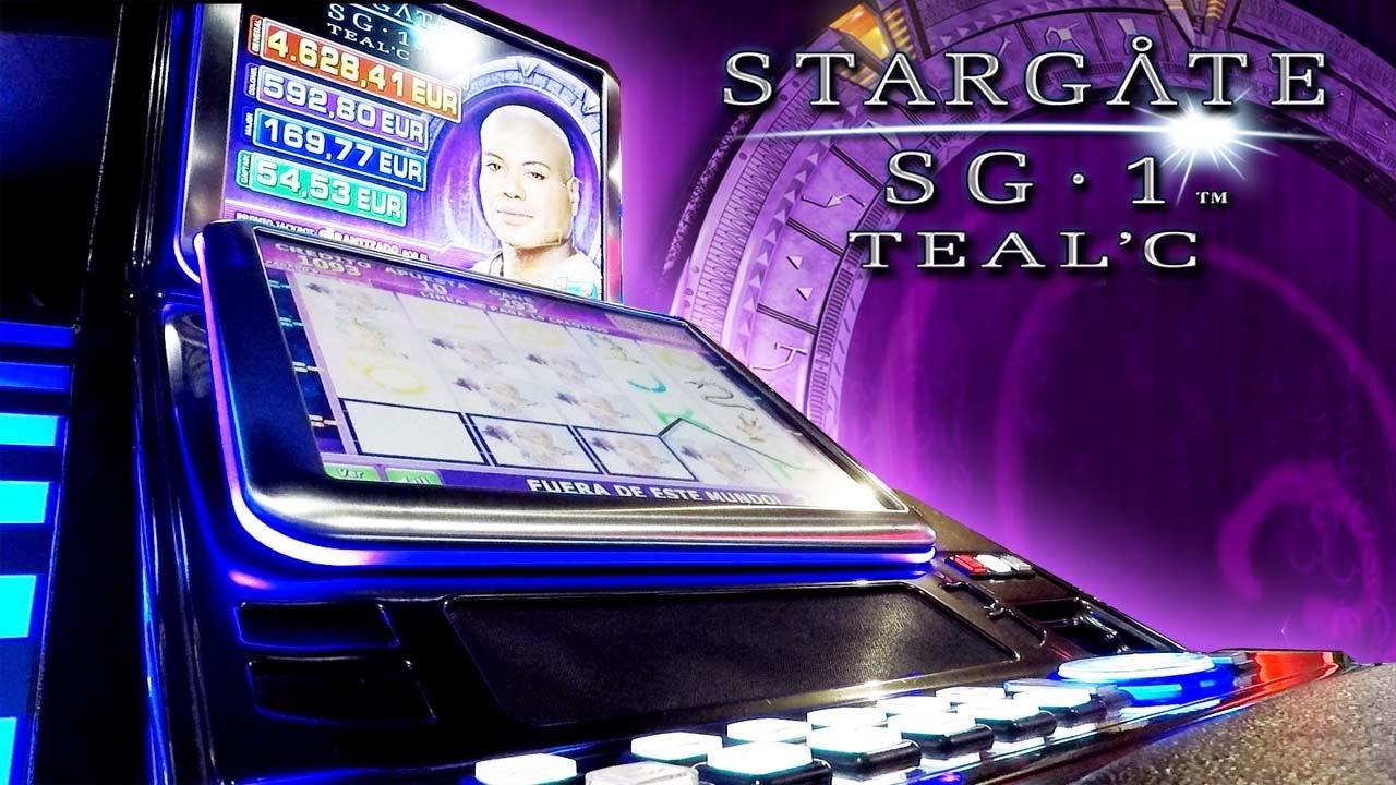 stargate slot machine