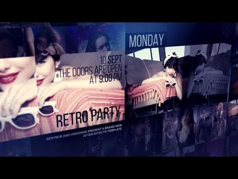 Music Events - After Effects template - 동영상