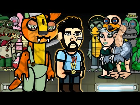 The JANITOR from Willy's Wonderland in Scribblenauts Unlimited |