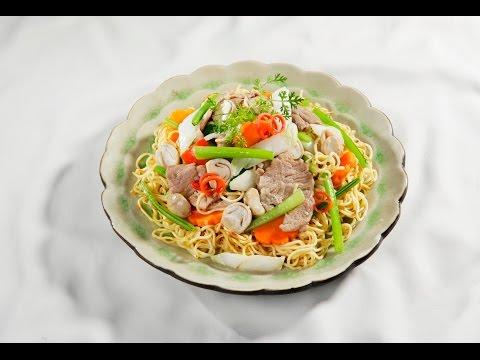 Món Ngon Mỗi Ngày - Mì áp chảo thịt heo