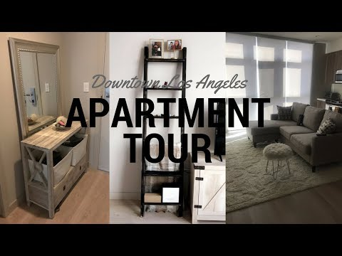 DOWNTOWN LOS ANGELES APARTMENT TOUR | HOW TO FURNISH A SMALL SPACE