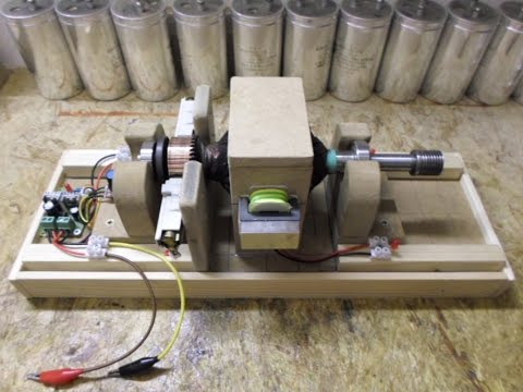 Universal Motor Rotor_Pulse Motor - Update 1 Fun project with PWM...