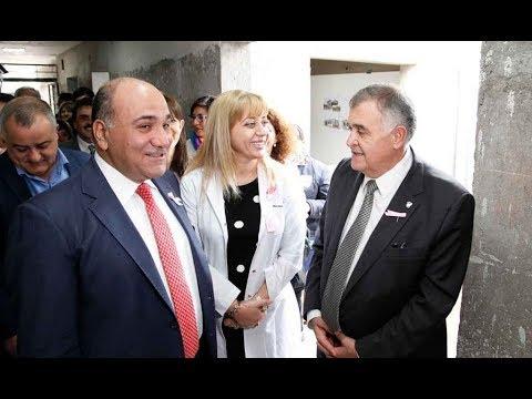 La ministra de Salud acompañó al gobernador en la visita de obra del CAPS Lomas de Tafí