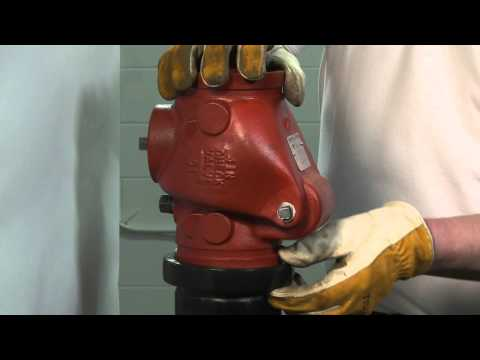 Anvil International - Grooved Pipe Fitting - 7800 Check Valve Installation Video