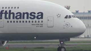 "Lufthansa Airbus A380 D-AIMD ""Tokio"" - Narita International Airport【NRT/RJAA】 -"