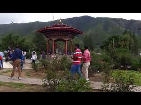 National memorial Choeten in Bhutan capital city Thimpu 1