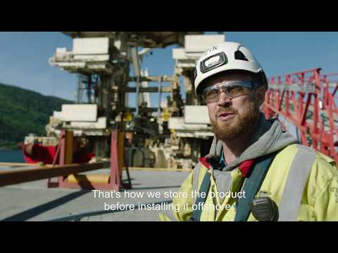 The Dvalin project: Gas export pipeline reeled onto Deep Energy (English subtitles)