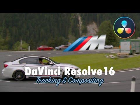 Objekte im Video befestigen | DaVinci Resolve 16 Compositing Tutorial