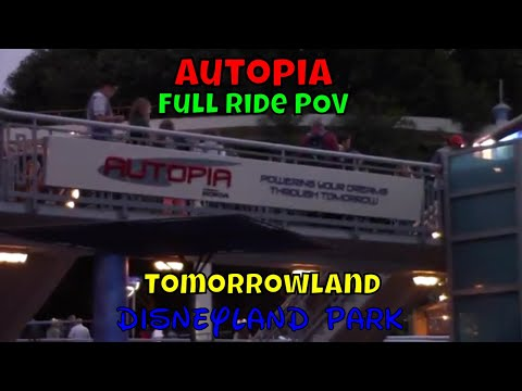 Autopia POV at Disneyland Park