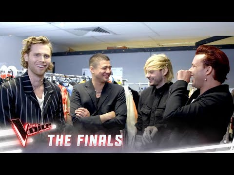 Getting ready with 5SOS | The Voice Australia 2019