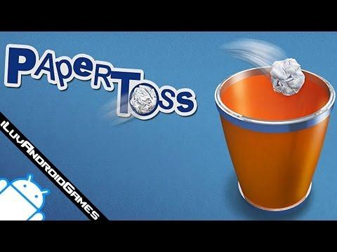 Paper Toss Gameplay
