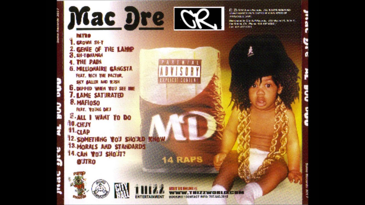 Nice MAC DRE   Al Boo Boo [FULL ALBUM] HD   YouTube